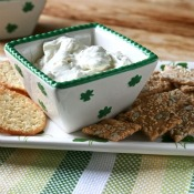 St. Patrick's Day Fresh Herb Dip