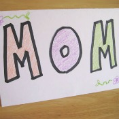 Wow Card for Mom