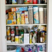 Spring Cleaning the Pantry Closet