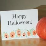 Thumbprint Pumpkin Patch