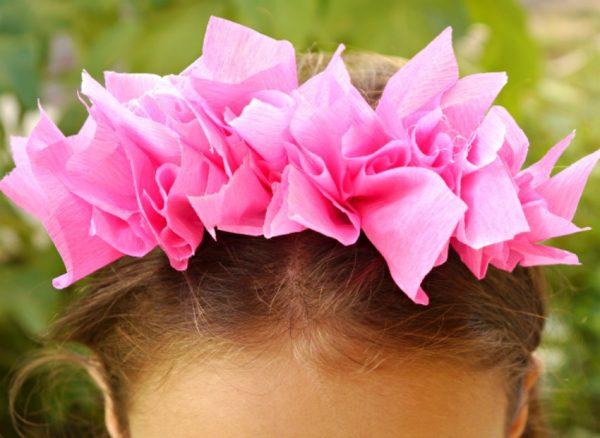 tissue paper headband 45
