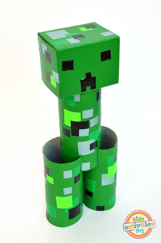 minecraft craft ideas for kids