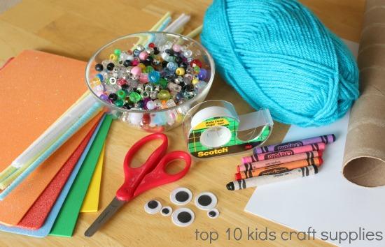 top 10 basic craft supplies