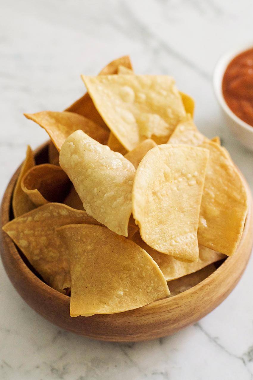 Homemade Tortilla Chips Recipe