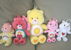 care bear toss