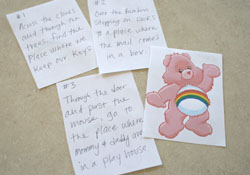 Care Bear Treasure Hunt