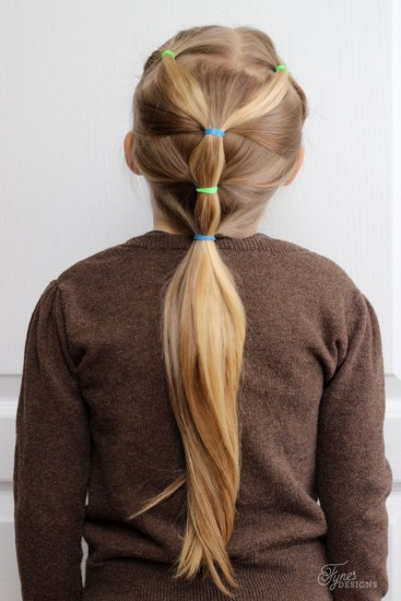 5 Min School Day Hairstyle