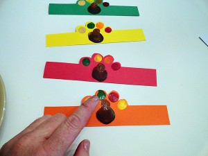 Fingerprint Turkey Napkin Rings-step-3