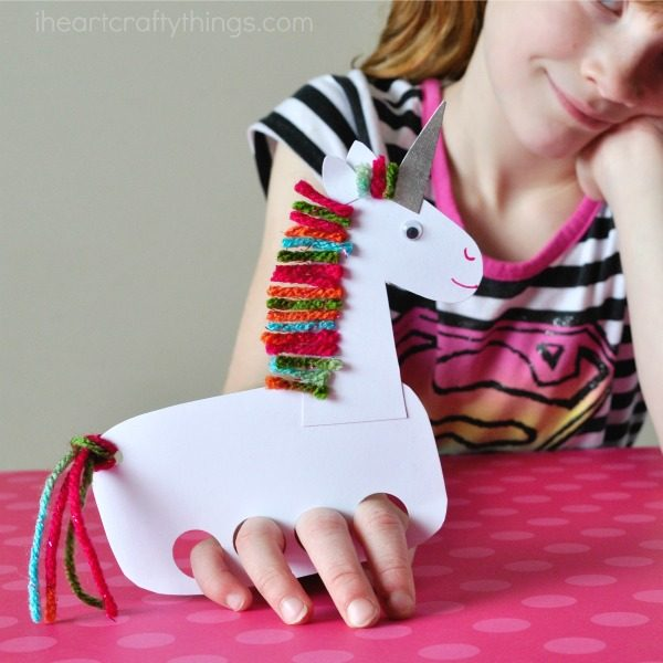 Unicorn Puppets