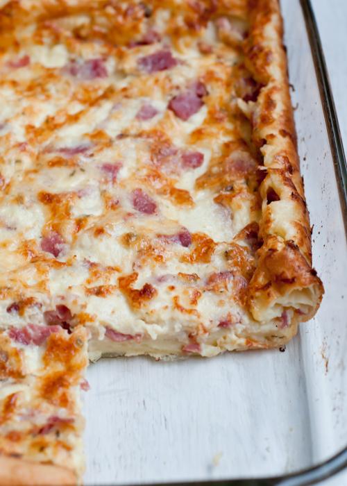 Ham and Cheese Puff Pancake Recipe