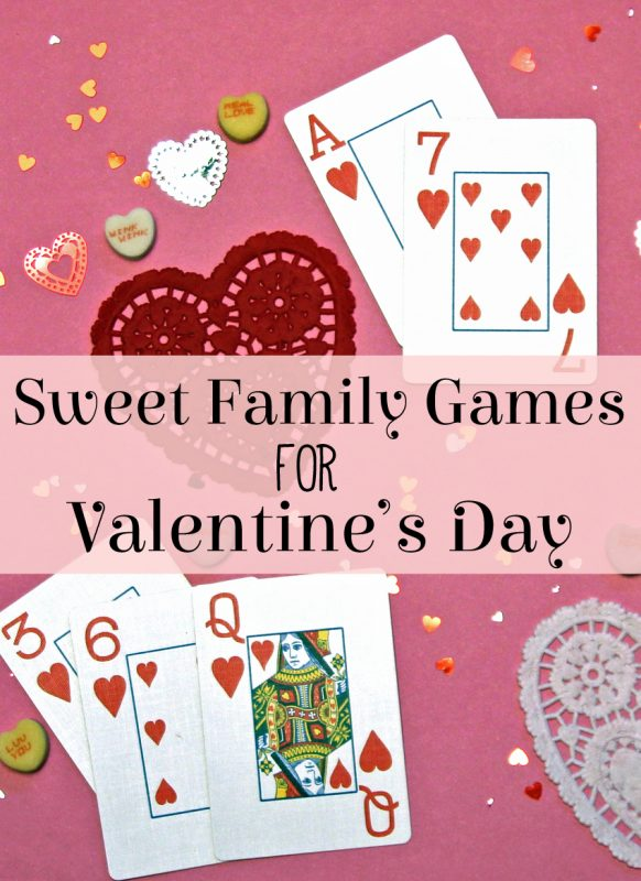 Sweet family games for Valentine's Day!