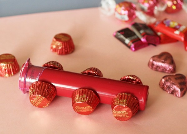 Candy trains for Valentine's Day