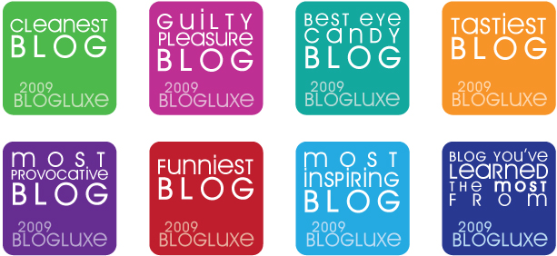 BlogLuxe Awards for Blogher Party