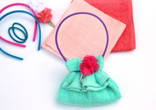 Washcloth purse gift - fun for Christmas or birthdays