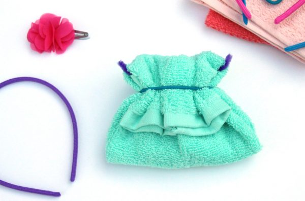 Washcloth purse DIY gift