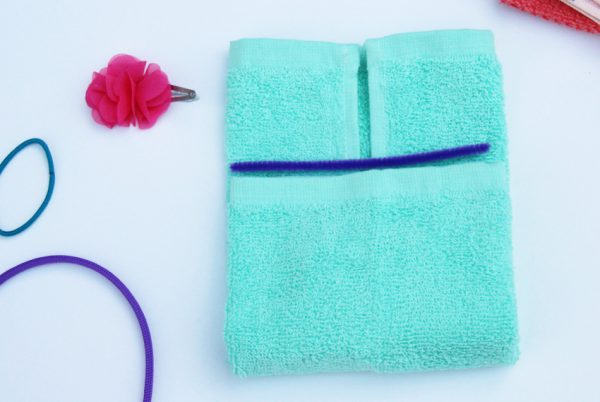 How to make a washcloth purse
