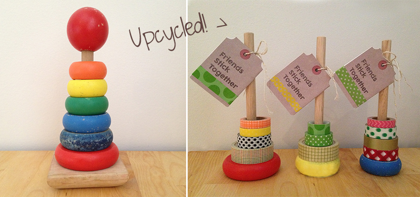 Make washi tape stands and tags make and takes for What can you do with washi tape