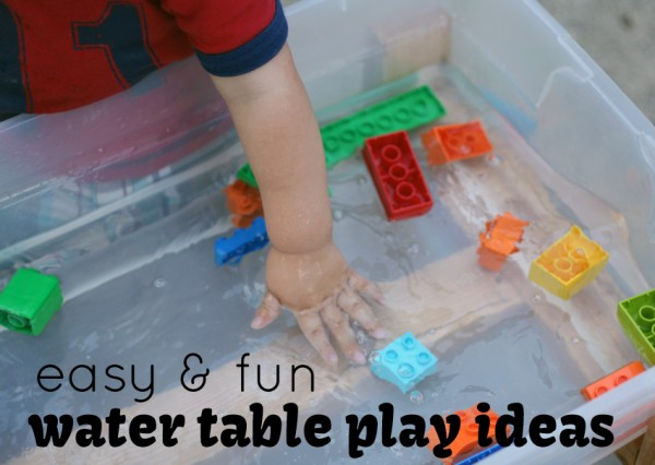 Unique water table play ideas for toddlers