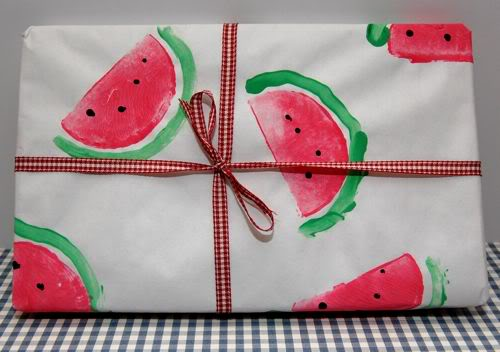 15 DIYs to Make for National Watermelon Day Wrapping Paper