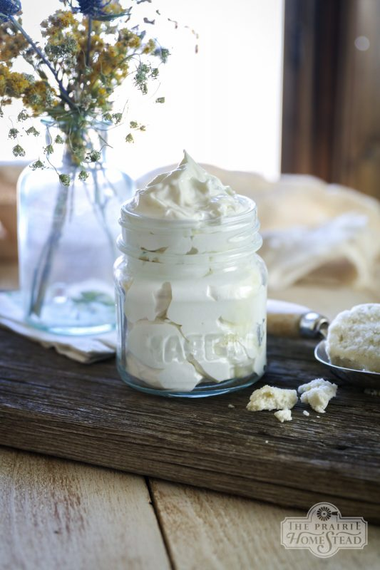 Whipped Body Butter Recipe