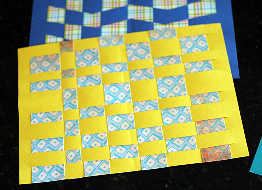 Classic Kids Craft Paper Weaving Make And Takes