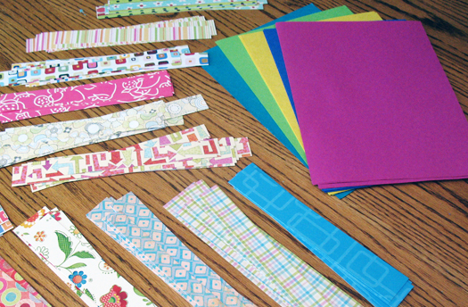 paper weaving supplies