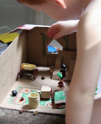 Fun Cardboard Box Craft Ideas