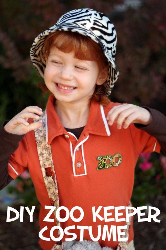 DIY Zoo Keeper Costume for Kids