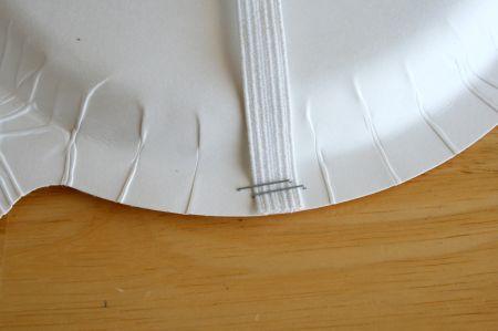 Staple Paper Plate