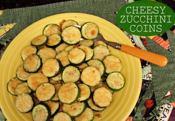 Kids in the Kitchen: Cheesy Zucchini Coins
